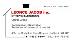 Construction Léonce Jacob Inc.
